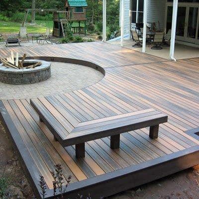 Top 60 Best Backyard Deck Ideas - Wood And Composite ... on Wood Deck Ideas For Backyard  id=55496