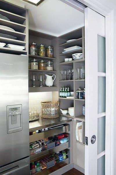 Top 70 Best Kitchen Pantry Ideas Organized Storage Designs