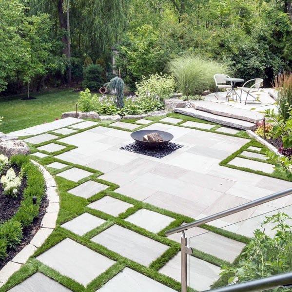 Top 60 Best Flagstone Patio Ideas - Hardscape Designs on Small Backyard Stone Patio Ideas id=33071