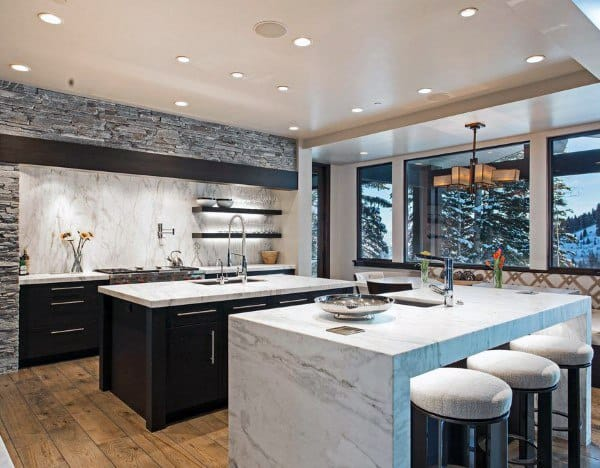Top 70 Best Modern Kitchen Design Ideas - Chef Driven ... on Modern Kitchen Ideas  id=26786
