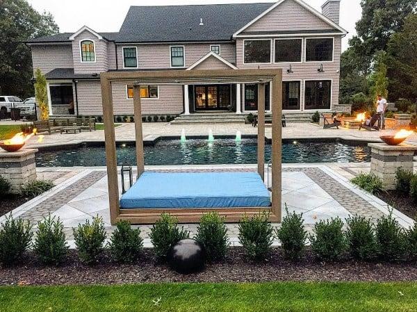 Top 60 Best Cool Backyard Ideas - Outdoor Retreat Designs on Cool Backyard Patio Ideas id=36180