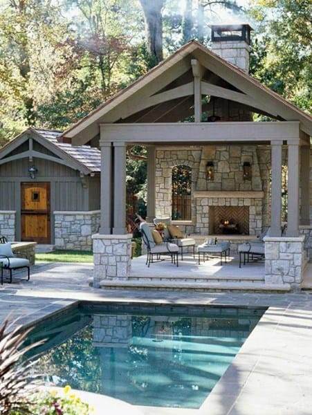 Top 50 Best Backyard Pavilion Ideas - Covered Outdoor ... on Outdoor Patio Pavilion id=88498