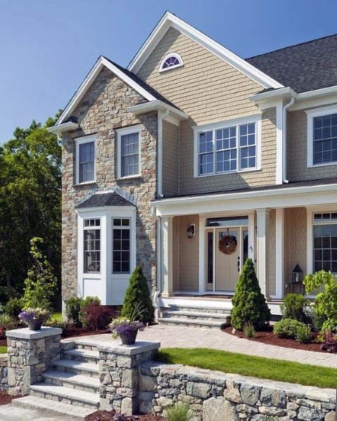 Top 60 Best Exterior House Siding Ideas - Wall Cladding ... on Modern House Siding  id=67878