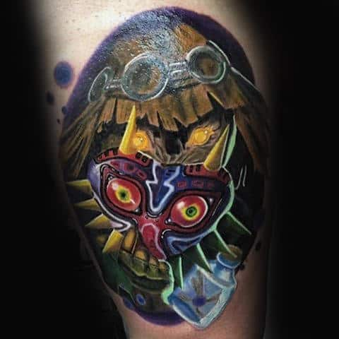 90 Zelda Tattoos For Men Cool Gamer Ink Design Ideas