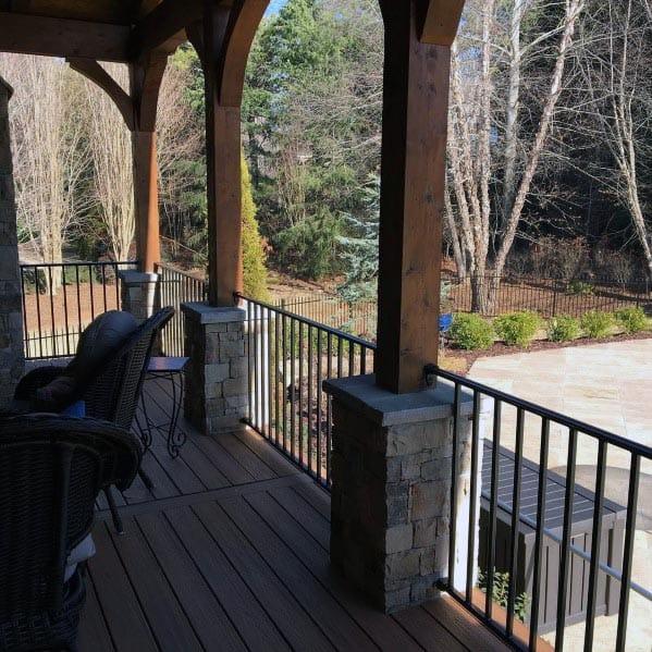 Modern Outdoor Railing