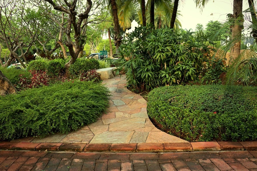 Top 70 Best Walkway Ideas - Unique Outdoor Pathway Designs on Backyard Walkway Ideas id=20245