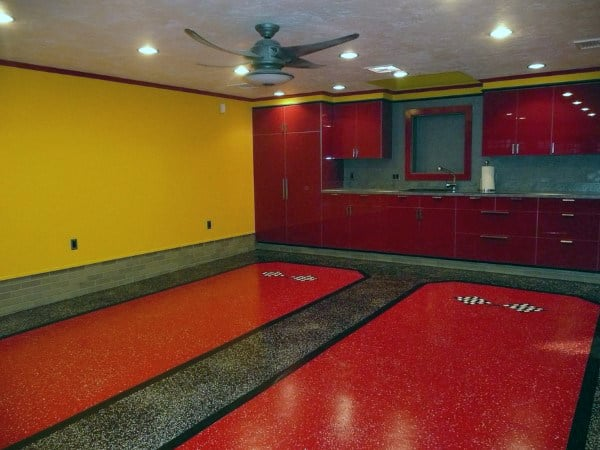 50 Garage Paint Ideas For Men - Masculine Wall Colors And ... on Garage Colors Ideas  id=24081