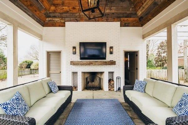 Top 60 Best Outdoor Patio Ideas - Backyard Lounge Designs on Patio Top Ideas id=15566