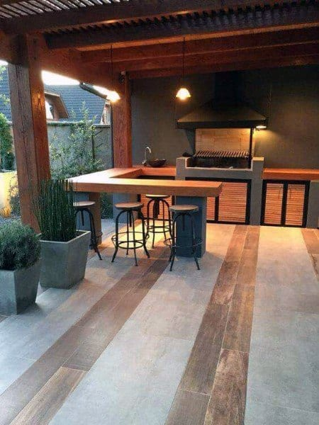 Top 50 Best Backyard Outdoor Bar Ideas - Cool Watering Holes on Backyard Bar With Roof id=53582
