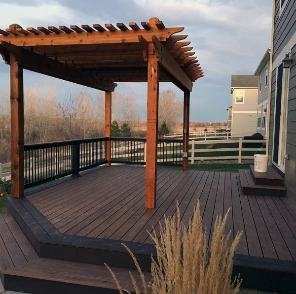 Top 60 Best Backyard Deck Ideas - Wood And Composite ... on Best Backyard Patio Designs id=54709