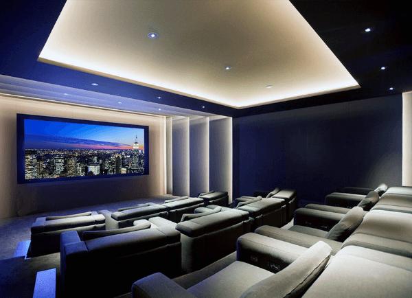 80 Home Theater Design Ideas For Men Movie Room Retreats