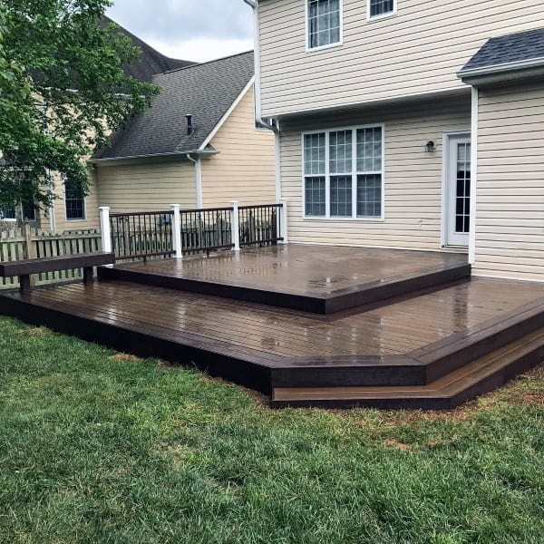 Top 60 Best Backyard Deck Ideas - Wood And Composite ... on Wood Deck Ideas For Backyard  id=38765