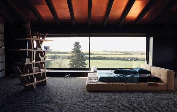60 Men's Bedroom Ideas - Masculine Interior Design Inspiration on Cool Room Ideas For Guys  id=16710