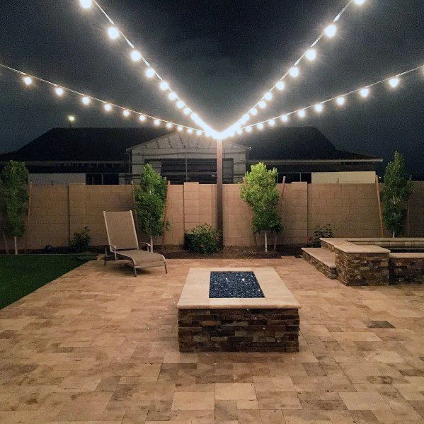 Top 40 Best Patio String Light Ideas Outdoor Lighting