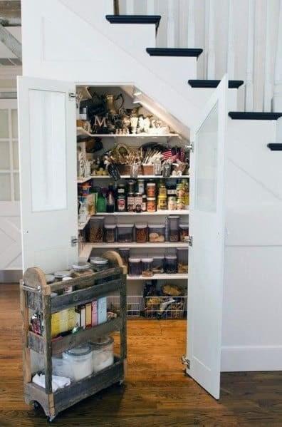 Top 70 Best Under Stairs Ideas Storage Designs | Kitchen Under Stairs Design | Cupboard | Living Room | Wet Bar | Basement Renovations | Staircase Storage