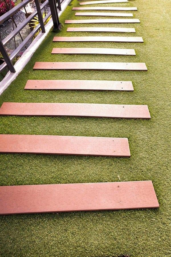 Top 50 Best Wooden Walkway Ideas - Wood Path Designs on Wooded Backyard Ideas id=82860
