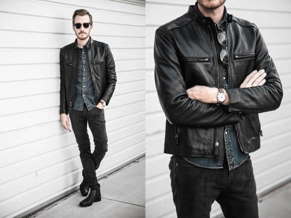 Image result for men wearing black shirt and pants