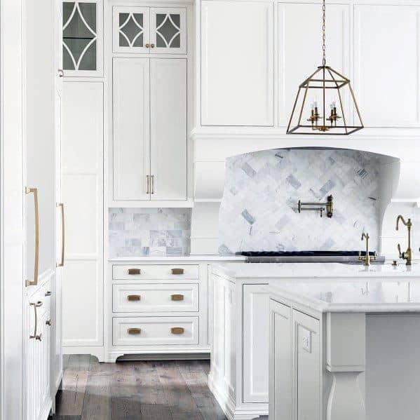 top 60 best kitchen stone backsplash