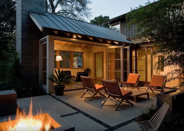 Top 60 Best Outdoor Patio Ideas - Backyard Lounge Designs on Extended Covered Patio Ideas id=89026
