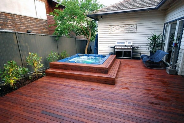 Top 80 Best Hot Tub Deck Ideas - Relaxing Backyard Designs on Deck And Hot Tub Ideas  id=58663