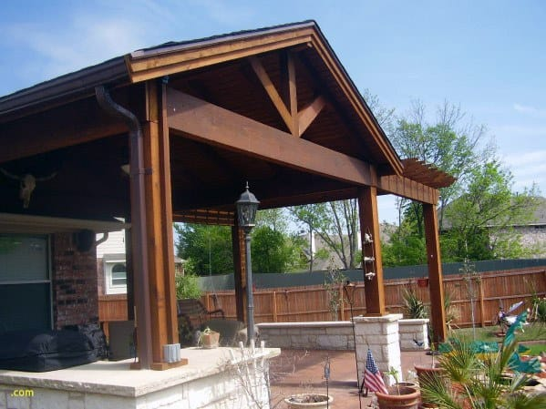 Top 60 Patio Roof Ideas - Covered Shelter Designs on Roof For Patio Ideas id=75703