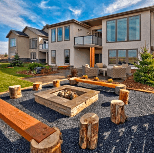 Top 40 Best Gravel Patio Ideas - Backyard Designs on Backyard With Gravel Ideas id=18026