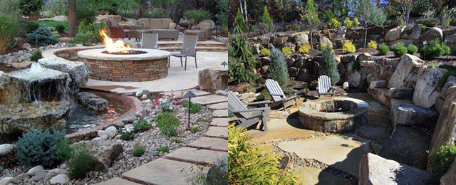 Top 50 Best Fire Pit Landscaping Ideas - Backyard Designs on Garden Ideas With Fire Pit id=45723