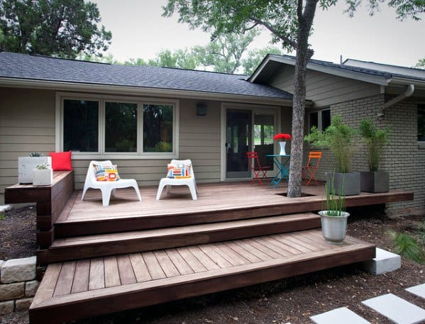 Top 60 Best Floating Deck Ideas - Contemporary Backyard ... on Deck Inspiration  id=76982