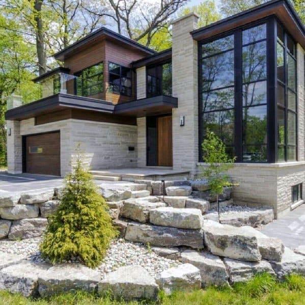 Top 70 Best Front Yard Landscaping Ideas - Outdoor Designs on Outdoor Front Yard Ideas id=16074