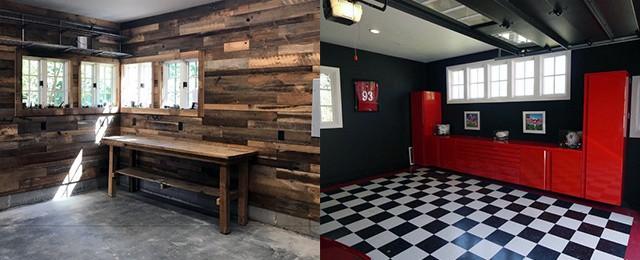 Top 70 Best Garage Wall Ideas - Masculine Interior Designs on Garage Decorating Ideas  id=68032
