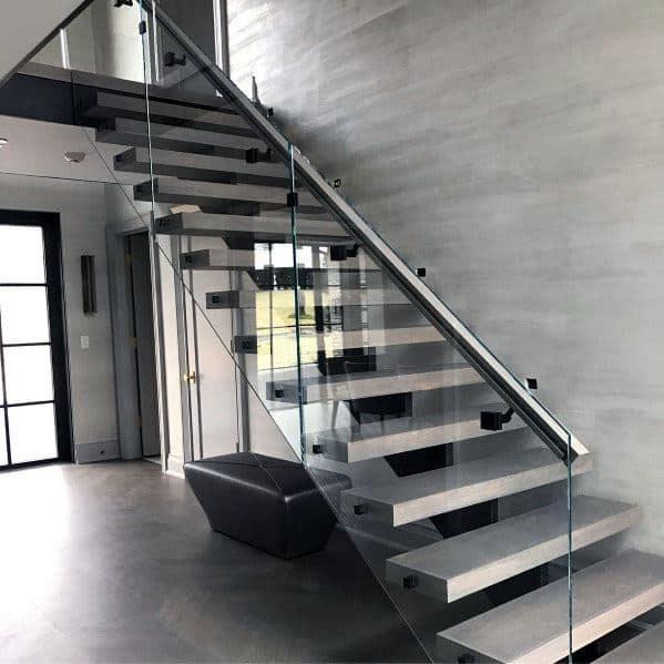 Top 70 Best Stair Railing Ideas Indoor Staircase Designs | Modern Stairs Design Indoor | Contemporary | Concrete | Beautiful Modern | Fancy | Interior