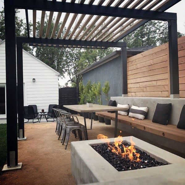 Top 70 Best Modern Patio Ideas - Contemporary Outdoor Designs on Modern Small Patio Ideas id=37503
