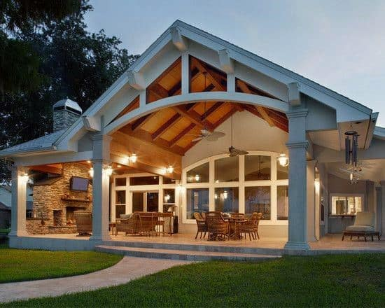 Top 60 Patio Roof Ideas - Covered Shelter Designs on Roof For Patio Ideas id=60625