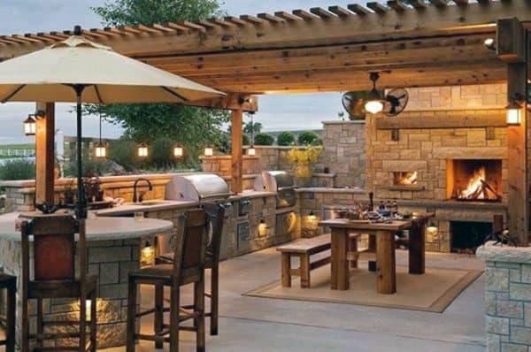 Top 50 Best Backyard Pavilion Ideas - Covered Outdoor ... on Outdoor Patio Pavilion id=19156