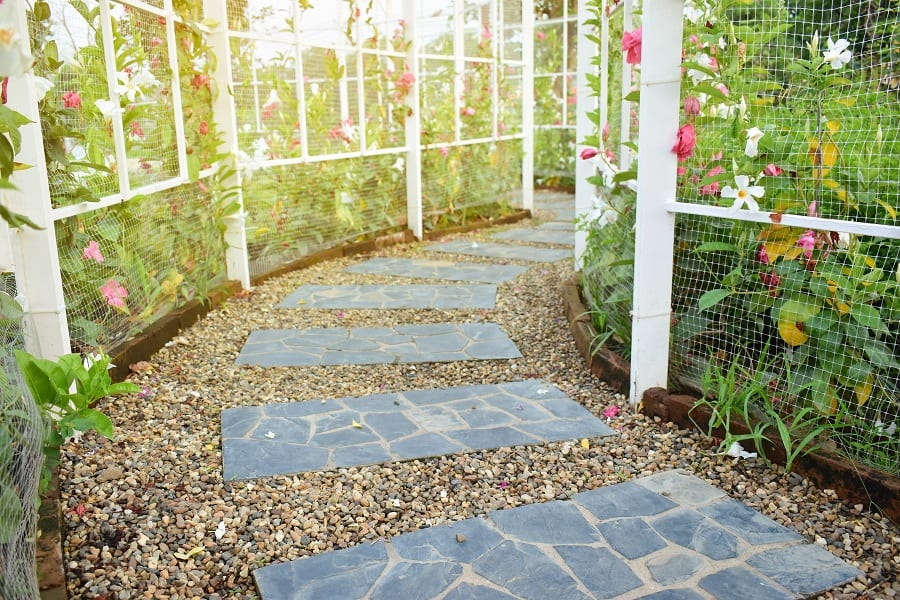 Top 70 Best Walkway Ideas - Unique Outdoor Pathway Designs on Backyard Walkway Ideas id=79575