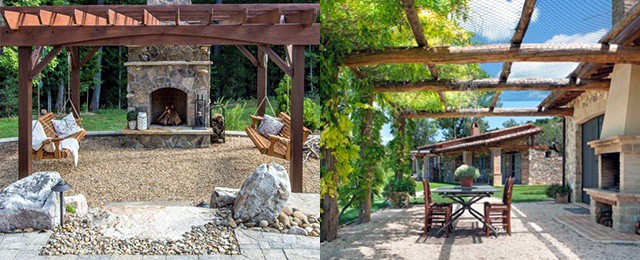 Top 40 Best Gravel Patio Ideas - Backyard Designs on Backyard With Gravel Ideas id=47555