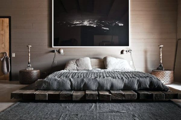 60 Men's Bedroom Ideas - Masculine Interior Design Inspiration on Guys Small Bedroom Ideas  id=41440