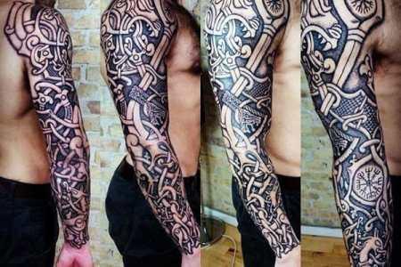 70 Viking Tattoos For Men Germanic Norse Seafarer Designs Tat