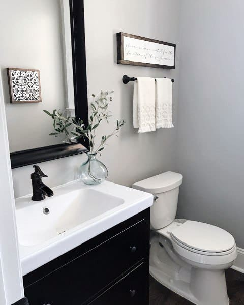 If you have high ceilings and/or large windows that will. Top 60 Best Half Bath Ideas - Unique Bathroom Designs