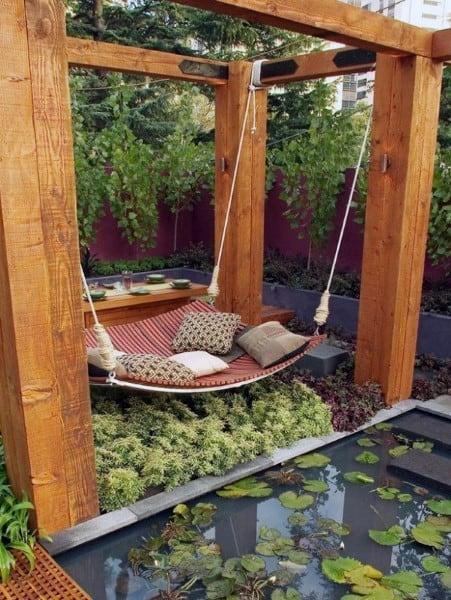 Top 60 Best Cool Backyard Ideas - Outdoor Retreat Designs on Cool Backyard Decorations id=27109