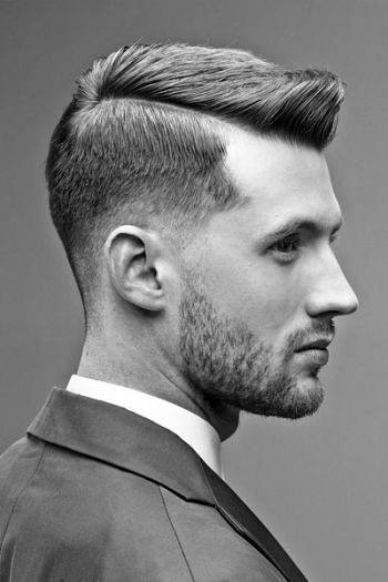 Young Professional Haircut Side Swept Hair