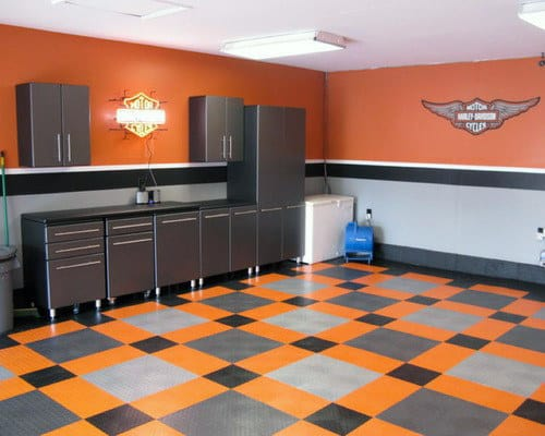 50 Garage Paint Ideas For Men - Masculine Wall Colors And ... on Garage Color Ideas  id=40792