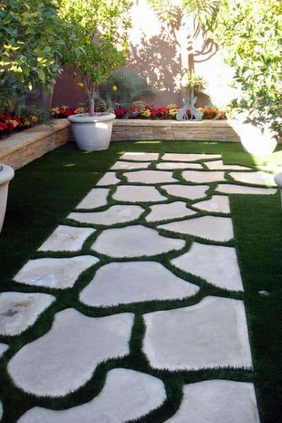 Top 70 Best Stepping Stone Ideas - Hardscape Pathway Designs on Stepping Stone Patio Ideas  id=65070