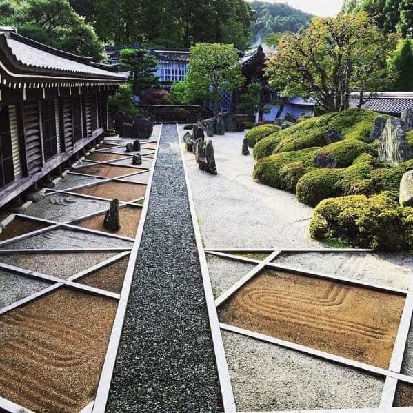 Top 60 Best Gravel Landscaping Ideas - Pebble Designs on Backyard Pebbles Design id=75116