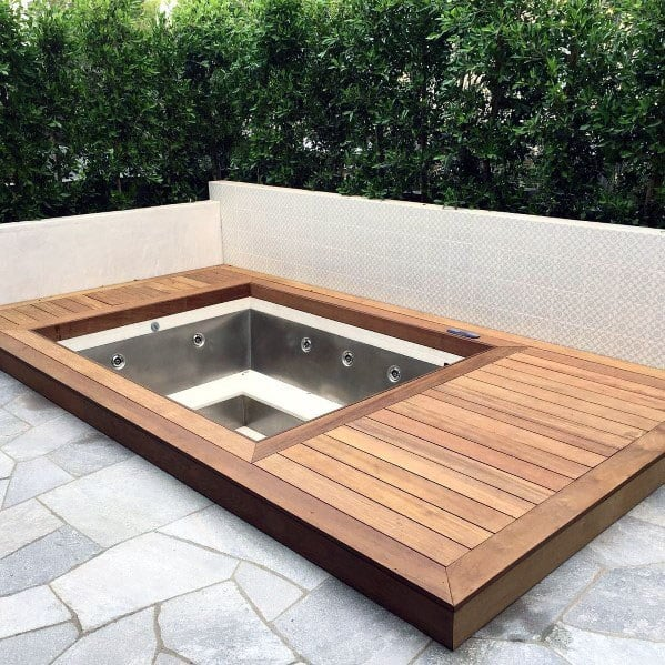 Top 80 Best Hot Tub Deck Ideas - Relaxing Backyard Designs on Deck And Hot Tub Ideas  id=98688