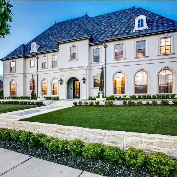 Top 70 Best Front Yard Landscaping Ideas - Outdoor Designs on Mansion Backyard Ideas id=65193