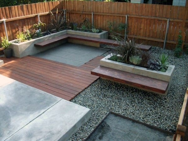 Top 60 Best Floating Deck Ideas - Contemporary Backyard ... on Floating Patio Ideas id=16957