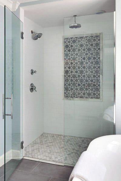 Top 50 Best Subway Tile Shower Ideas - Bathroom Designs on Bathroom Ideas Subway Tile  id=79057
