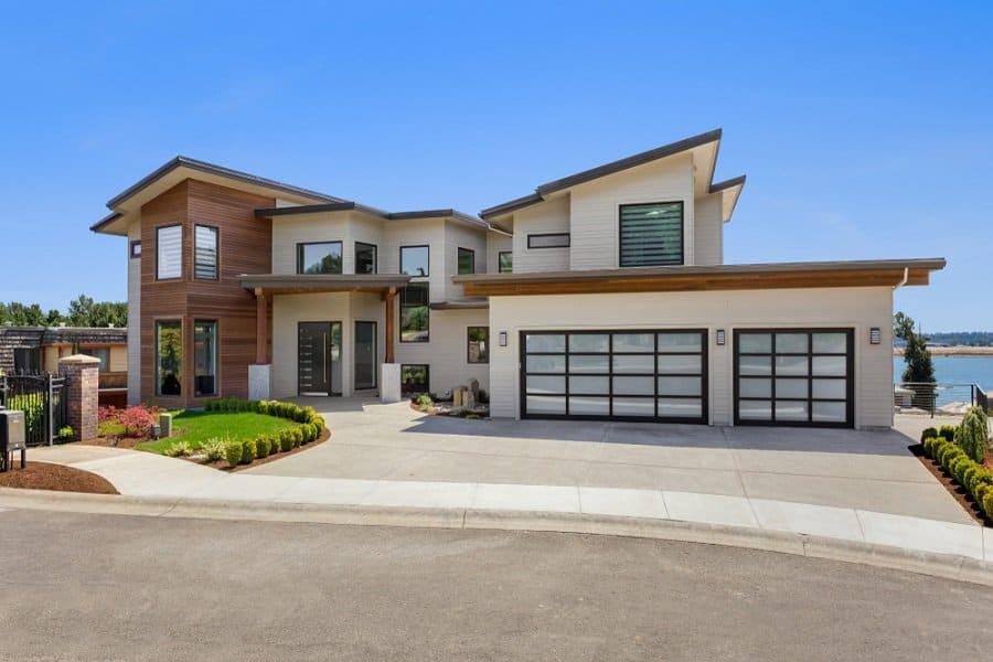 Top 70 Best Garage Door Ideas - Exterior Designs on Garage Door Ideas  id=14116
