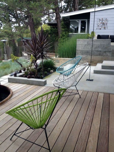 Top 50 Best Modern Deck Ideas - Contemporary Backyard Designs on Patio With Deck Ideas id=71148